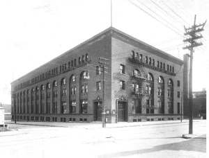 "Berdan Building, circa 1910. Source: Toledo-Lucas County Library's ""Images in Time"""