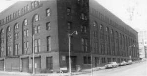 "Berdan Building, circa 1965. Source: Toledo-Lucas County Library's ""Images in Time"""